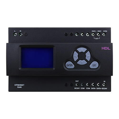 درگاه کنترلی 512 کانال DMXتحت شبکه Buspro مدل HDL-MD512-DMX.232