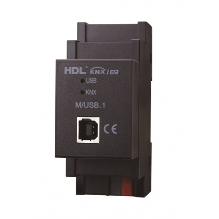 درگاه USB - تحت KNX مدل HDL-M/USB