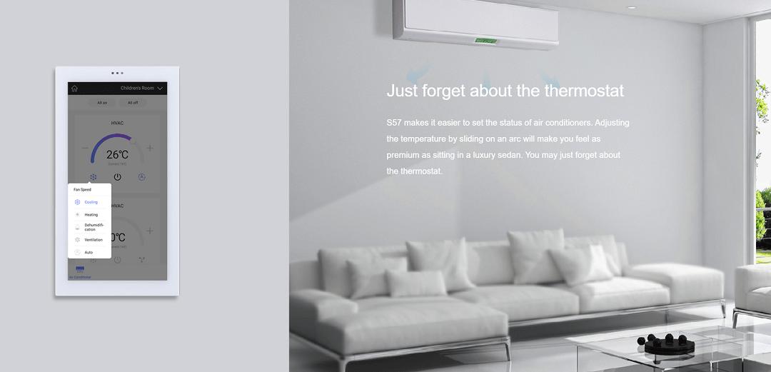ترموستات را فراموش کنید. خانه هوشمند HDL برای شما تمام کارهای را انجام میدهد.