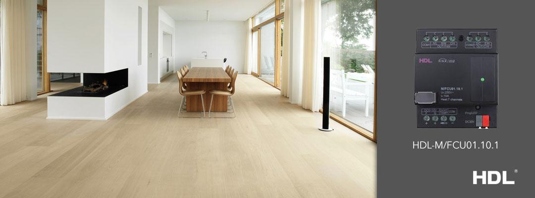 ماژول کنترل گرمایش از کف خانه هوشمند برند HDL تحت KNX