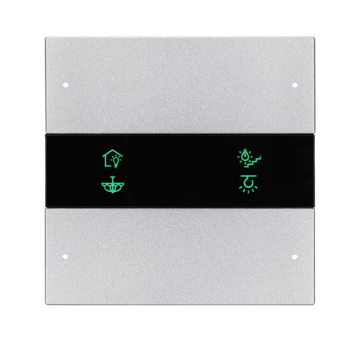 کلید هوشمند سری گرانیت تحت شبکه Buspro مدل HDL-MP4C /MP6C