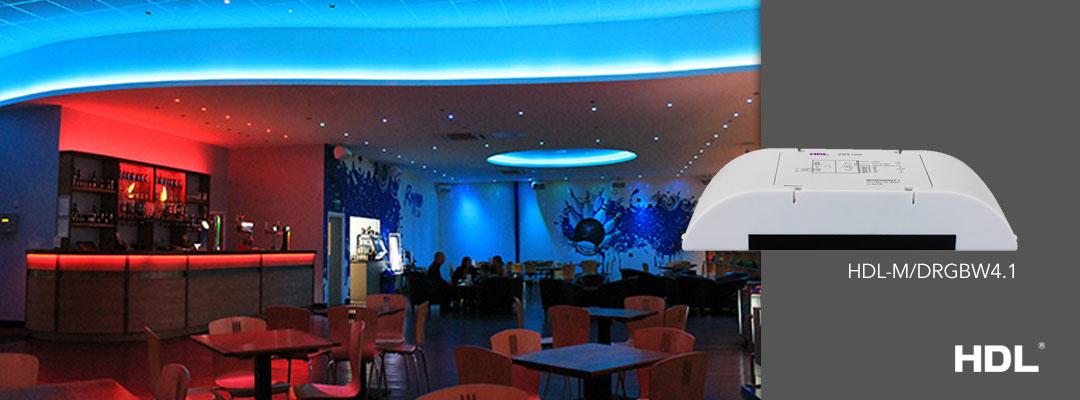 خلق نورپردازی های زیبا با درایور RGB برند HDL در خانه هوشمند شما