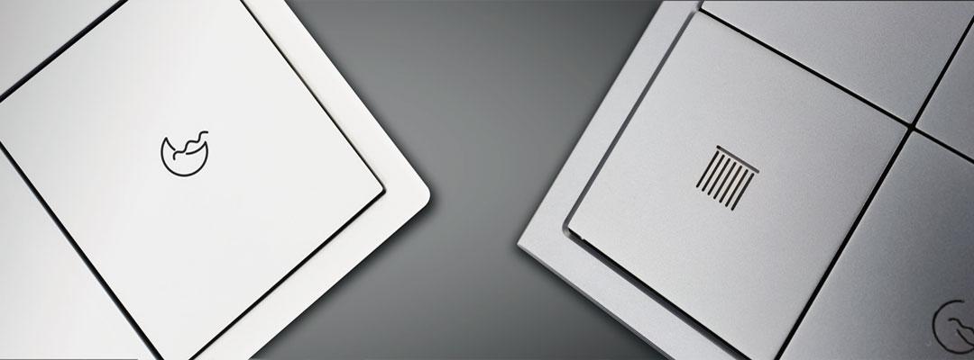 کلیدهای هوشمند سری Tileبرند HDL با دو جنس فلزی و پلاستیکی