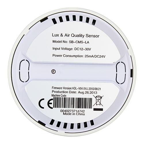 سنسور LUX و تشخیص کیفیت هوا مناسب فضای درونی تحت Buspro مدل HDL-MASLA.2C