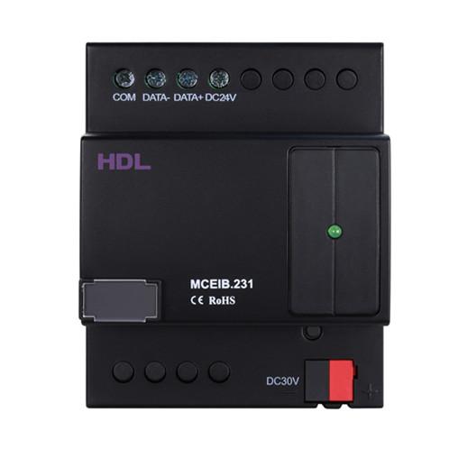 تبدیل کننده فضای KNX-EIB و HDL-BUS مدل HDL-MCEIB.231