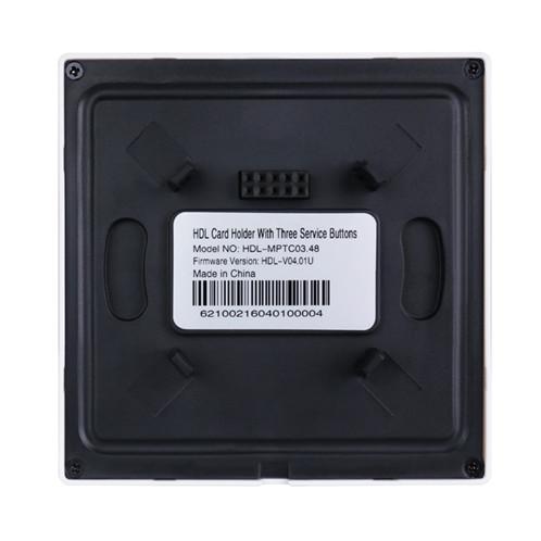 پنل کنترل مرکزی و کارت خوان هتلی RF تحت Buspro مدل HDL-MPTC03.4X