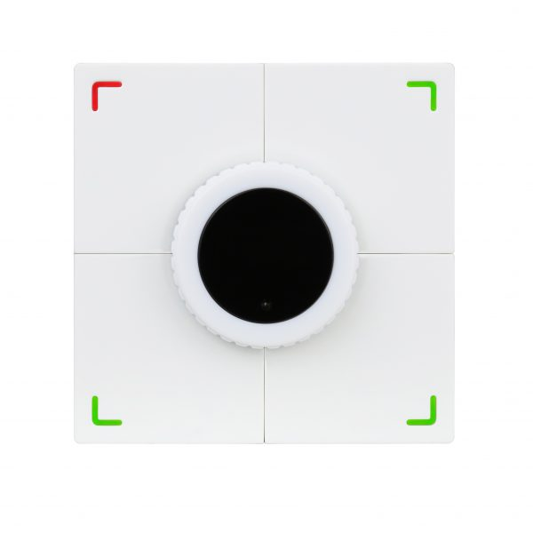 پنل 4 دکمه وایرلس ISMART تحت Buspro مدل HDL-MPE04-RF.18