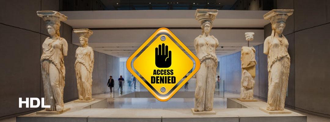 کنترل تردد افراد در موزه هوشمند