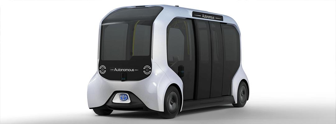 استفاده از پالتهای الکترونیکی تویوتا در حمل و نقل شهر هوشمند فوجی با نام Woven City