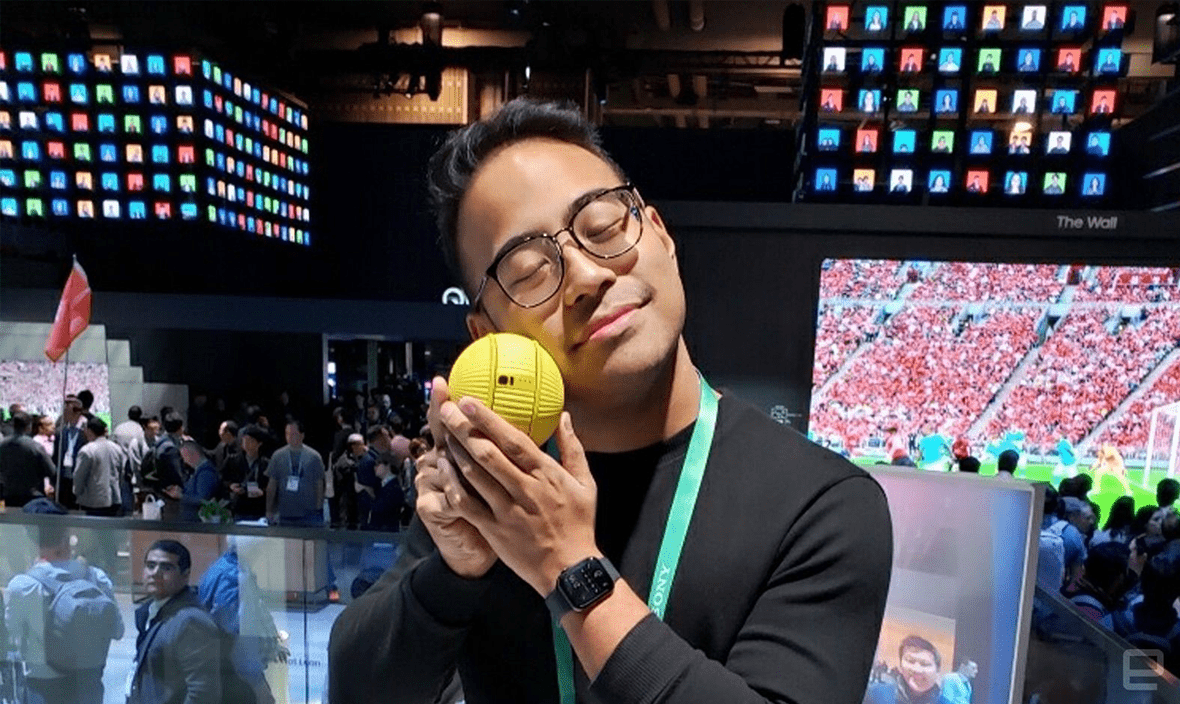 بالی توپ هوشمند سامسونگ برای مدیریت خانه هوشمند
