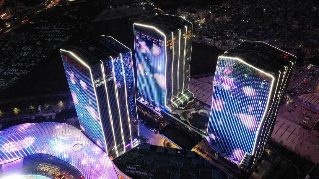 هتل هوشمند دلتا چین از مجموعه Marriot هوشمند شده با محصولات HDL