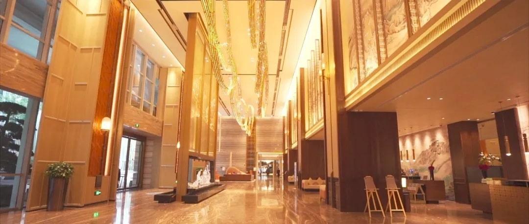 سالن هتل هوشمند دلتا چین از مجموعه Marriot هوشمند شده با محصولات HDL