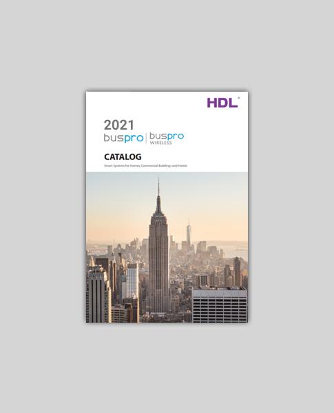 کاتالوگ Buspro، پروتکل اختصاصی HDL سال 2021