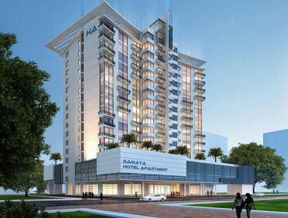 هتل هوشمند سامایا دبی با محصولات هوشمند HDL