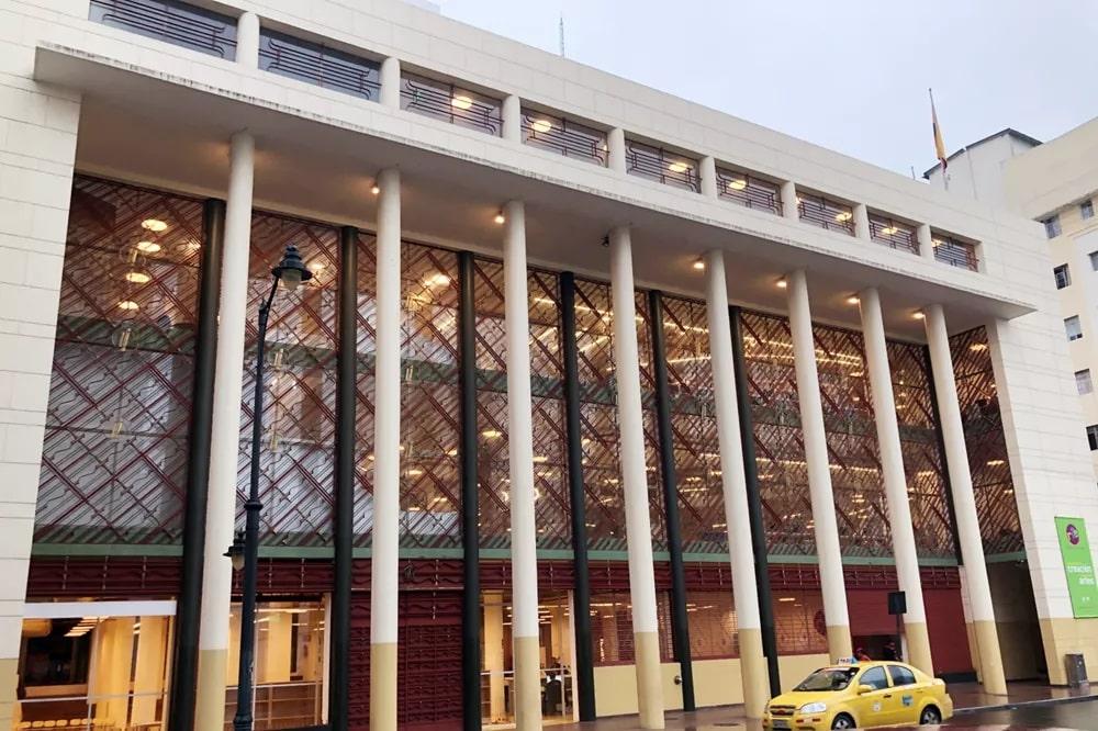 کتابخانه هوشمند دانشگاه هنر اکوادور