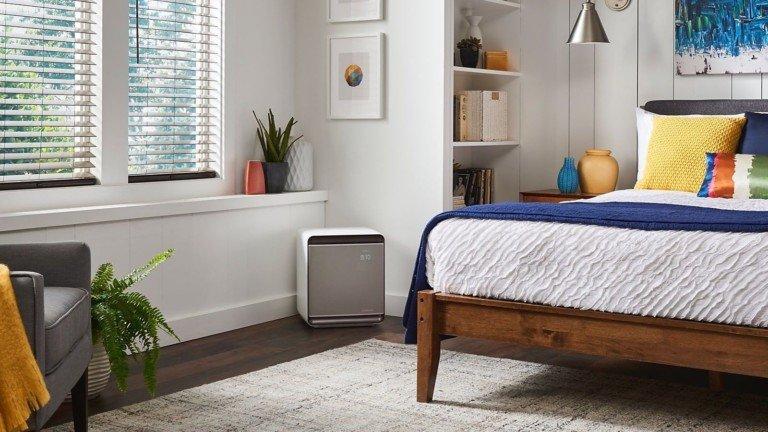 پاکسازی هوا با تصفیه هوای سامسونگ با نام، Samsung Cube